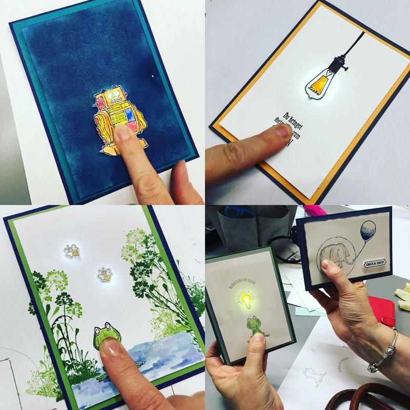 LED Karten Workshop
