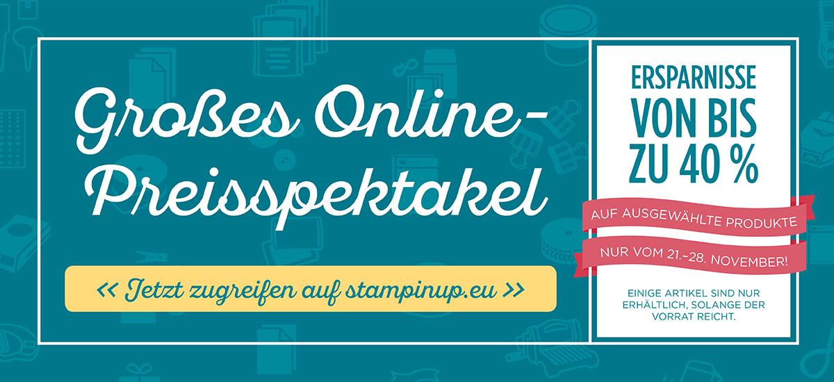 Großes Online Preisspektakel
