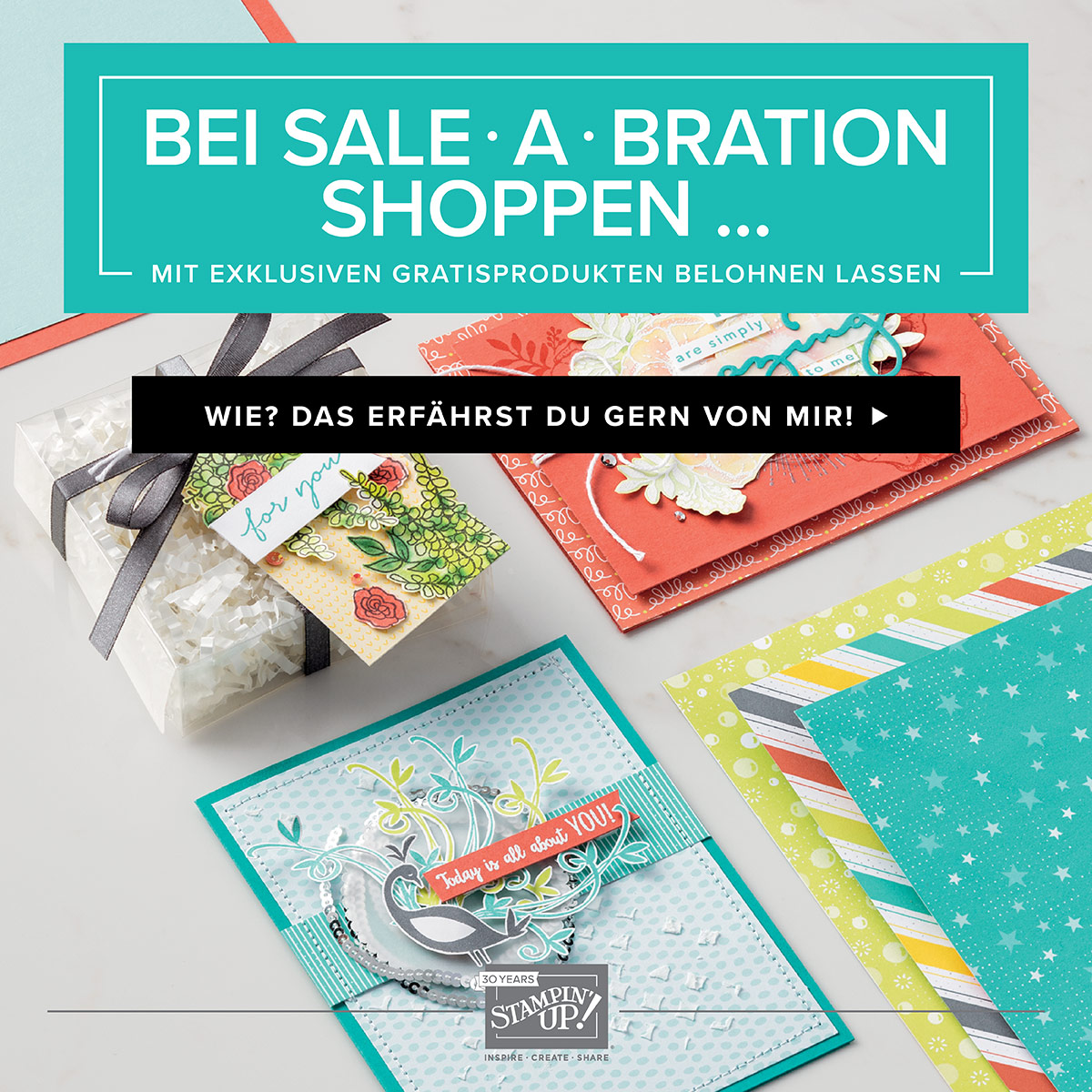 Start der Sale a Bration