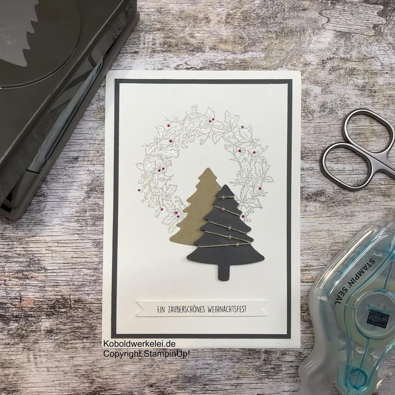 Die ersten Weihnachtskarten