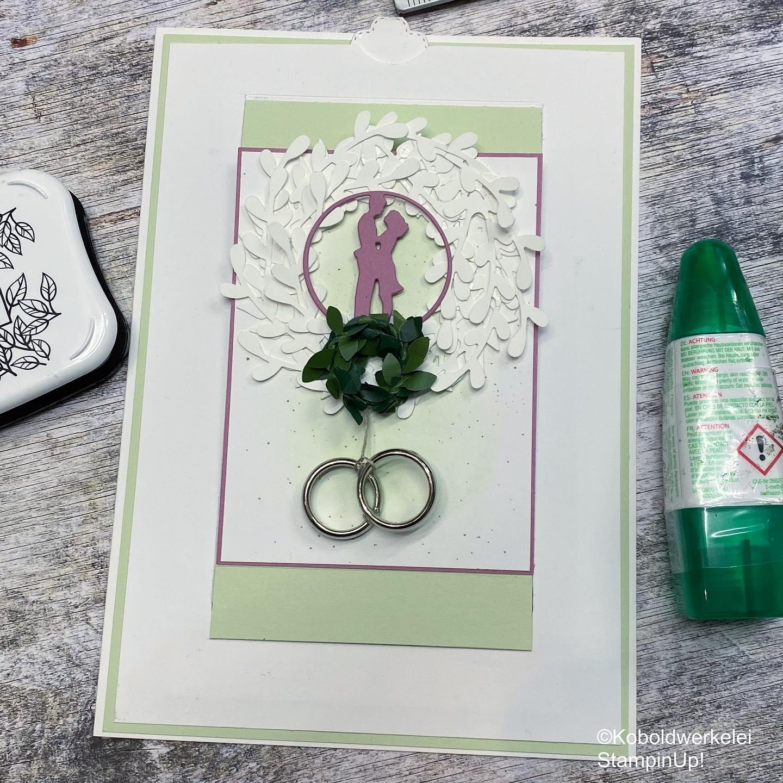 Besondere Hochzeitskarte
